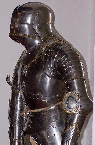 15世紀のドイツのゴシックアーマー
