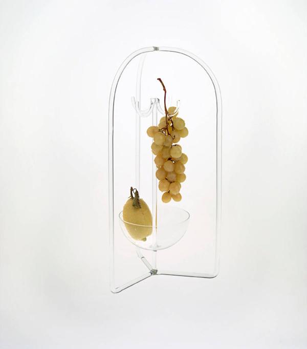 フルーツを飾るためのガラスのユニークデザイン (6)