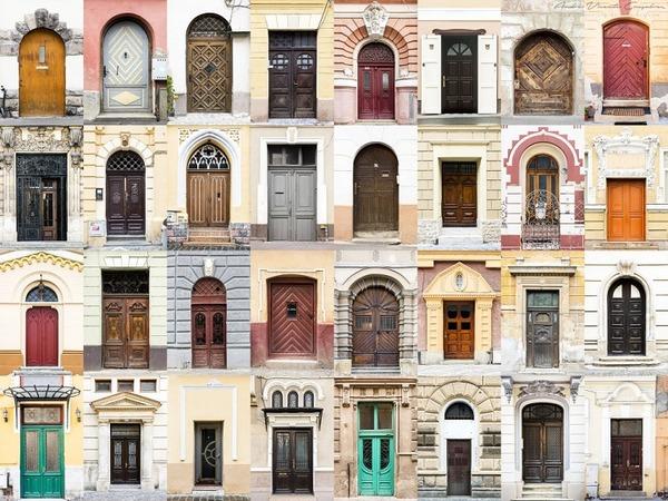 ルーマニアの玄関ドア