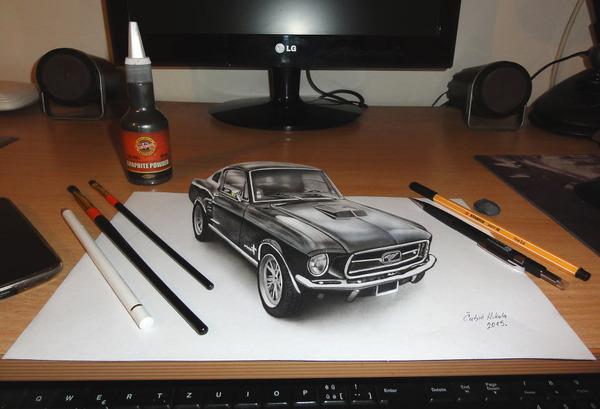 歪像によって浮き出て見える3D絵画アートが面白い! (6)