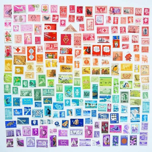 物で虹の色彩を作るアート写真プロジェクト (13)