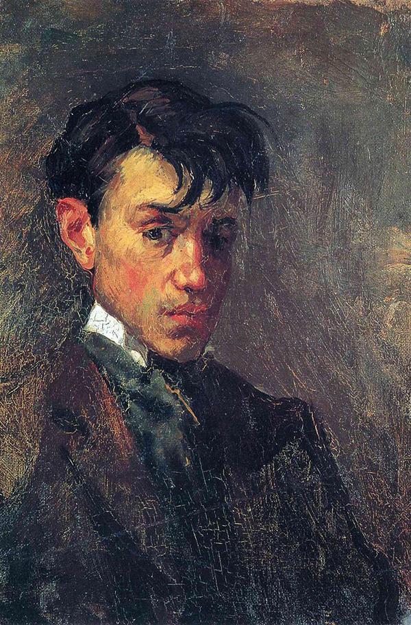 ピカソの自画像!15歳から90歳までの肖像画 (7)