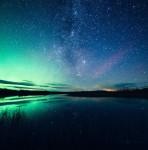 綺麗すぎ!フィンランドの夜空、満天の星空の写真