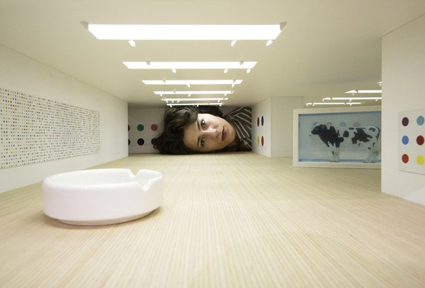 ミニチュア美術館を観に来たらアートの一部になっちゃった人達 (3)