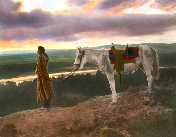 インディアン(ネイティブ・アメリカン)の貴重なカラー化写真 (9)