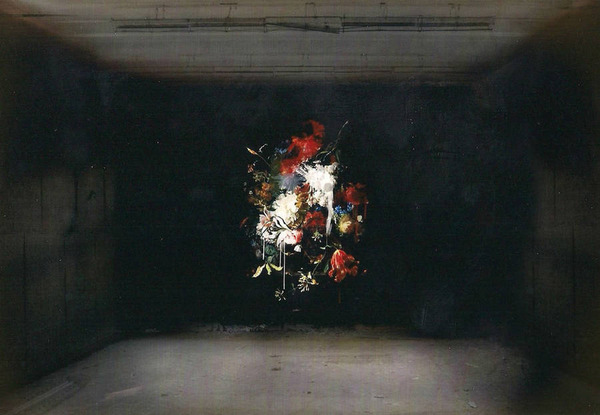 廃墟の壁に描かれたルネサンス風絵画 (4)