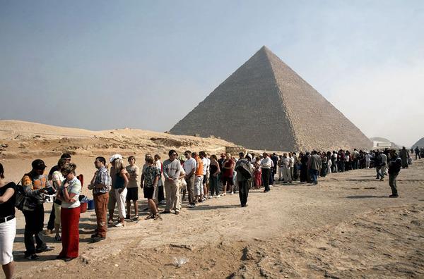 エジプト、ギザのピラミッド2