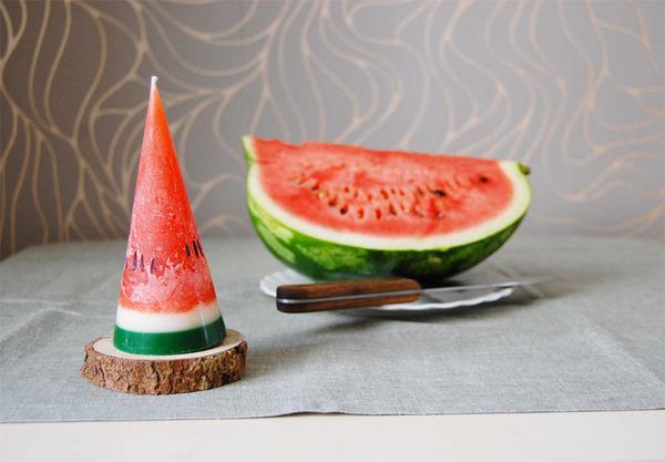 超フルーティ!果物の形をした美味しそうなアロマキャンドル (1)