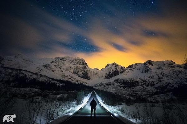 旅に出たくなる!美しい大自然と人間が一緒の写真 (11)