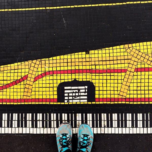 パリは床もお洒落だった!足元に広がる様々なデザインパターン (14)
