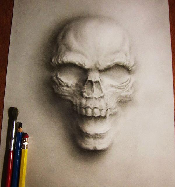 死霊が浮き出るホラーな3D絵画 jerameel-lu 5