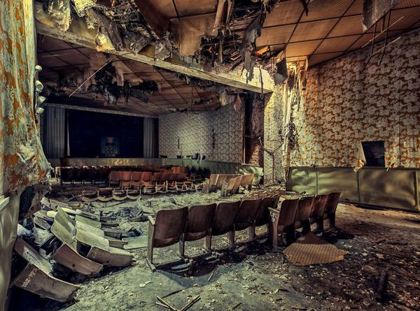 ヨーロッパの廃墟画像!寂れた建物の内観でメランコリック (26)