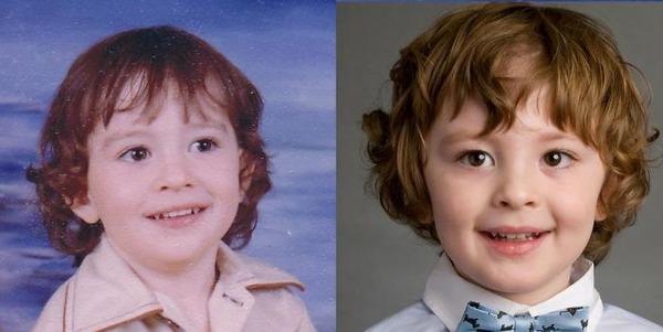 親子って似るんだね。親とそっくりな子供の比較画像 (17)
