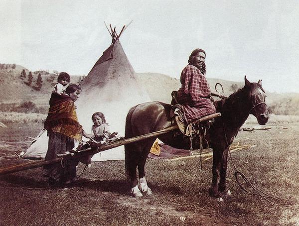 インディアン(ネイティブ・アメリカン)の貴重なカラー化写真 (37)