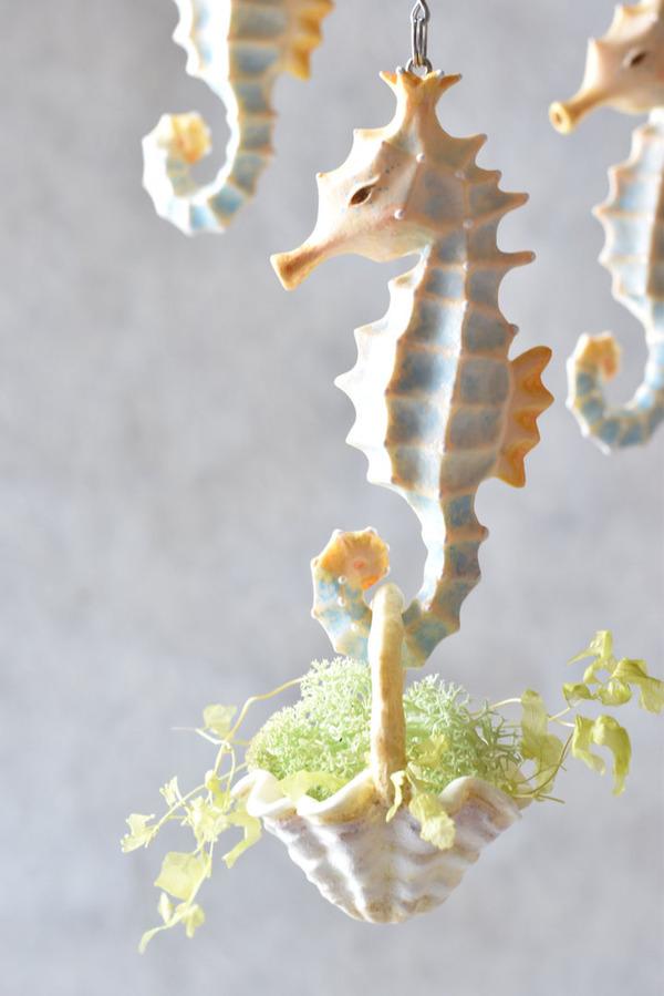 動物や植物な樹脂製アートプランター!『HARIMOGURA』 (3)