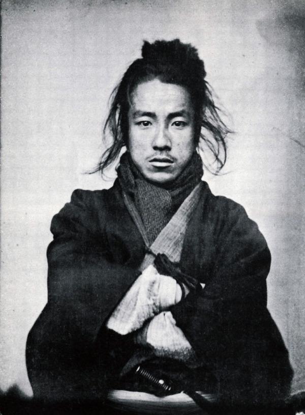 ラストサムライ…!19世紀、明治時代の侍の貴重な写真 (2a)