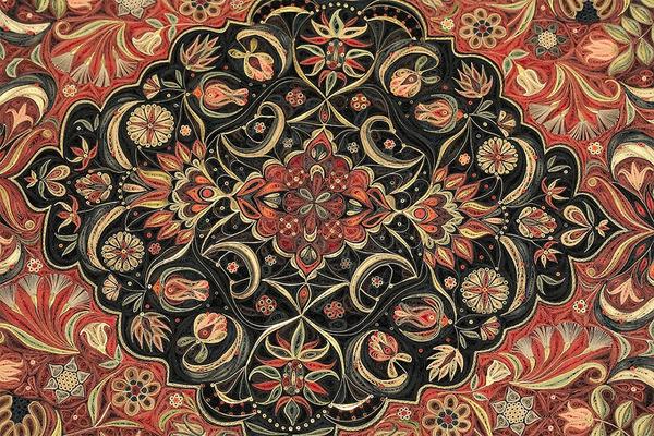 紙で作られた絨毯など、超大作なペーパークイリングアート! (4)