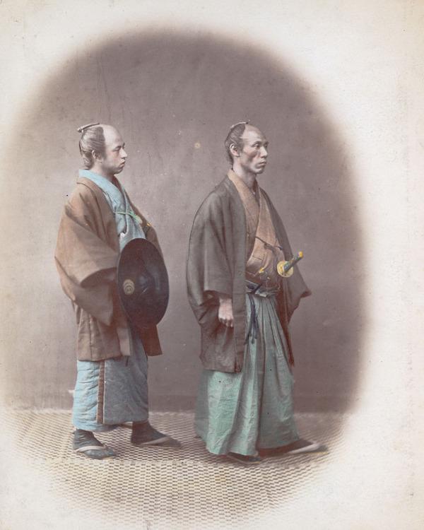 ラストサムライ…!19世紀、明治時代の侍の貴重な写真 (8)