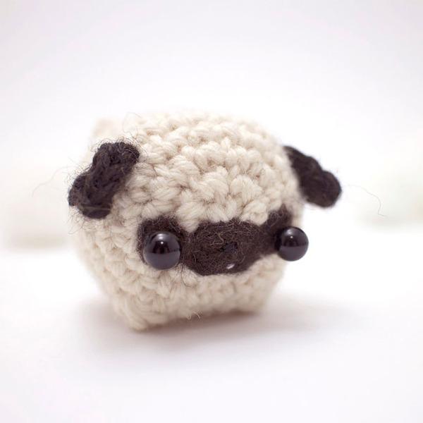 小さすぎる可愛すぎる動物の『あみぐるみ』 (1)