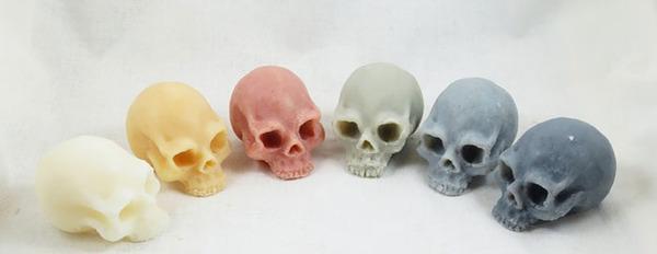 頭蓋骨の石鹸、Skull Soap 5