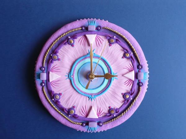 デコケーキっぽい壁掛け時計 (5)