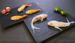 コイ寿司!自宅でも簡単に作れる鯉の形をした握り寿司