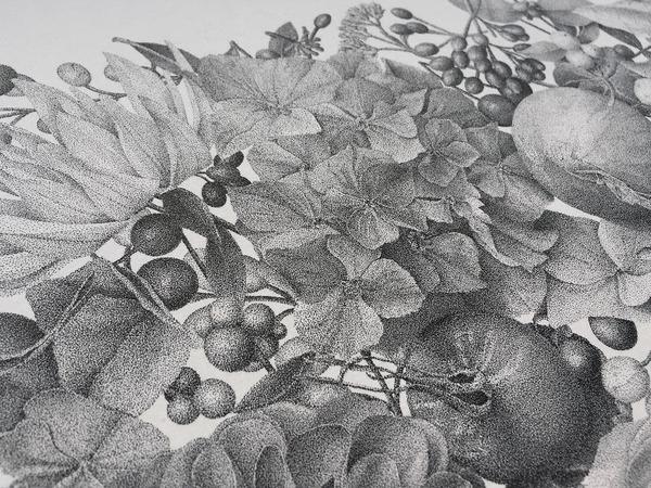 700万の点で描く!370時間をかけて制作された絵画『Autumn』 (5)