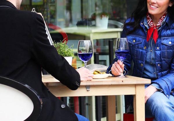 超爽やか!革新的な青いワイン『Gik』 (8)