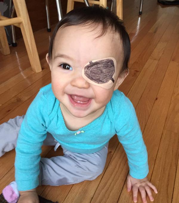 #11 眼帯が必要な娘のために最大限の努力をするお父さん 2