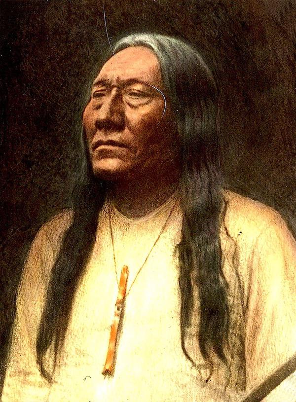 インディアン(ネイティブ・アメリカン)の貴重なカラー化写真 (10)