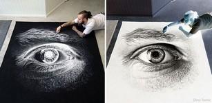塩で描くアートがすごい!肖像画、曼荼羅模様、動物の絵など