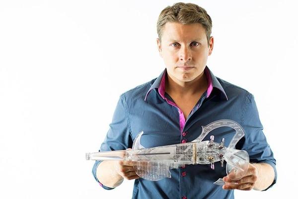 『3D VARIUS』3Dプリンタで製作!演奏できるエレキバイオリン (3)