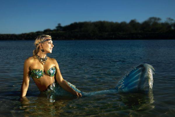 人魚のようなハンナ・フレイザー(Hannah Fraser) 2
