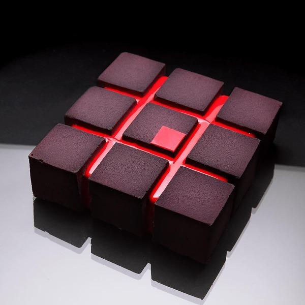 完璧な形状をしたデザート…幾何学的なスイーツ特集 (9)