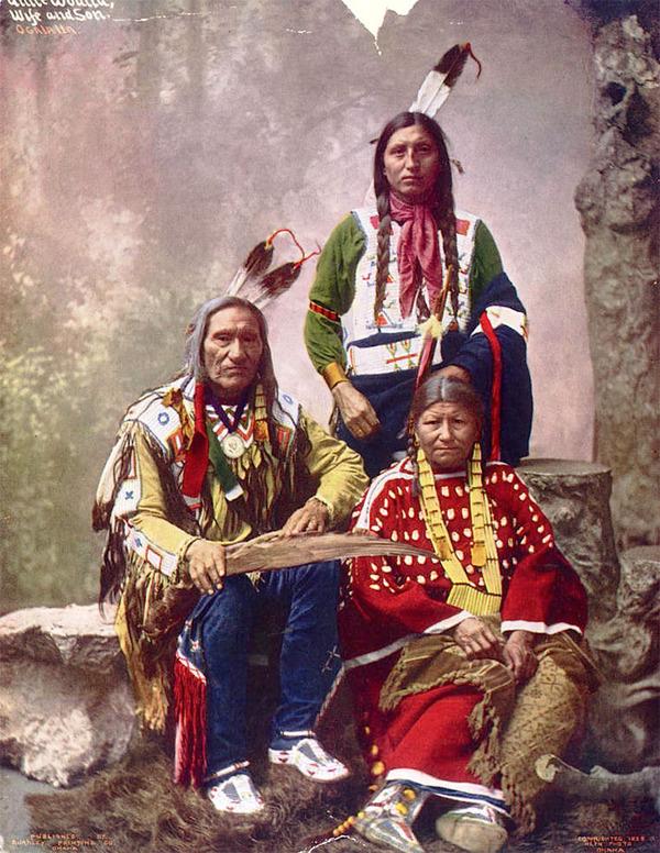 インディアン(ネイティブ・アメリカン)の貴重なカラー化写真 (33)