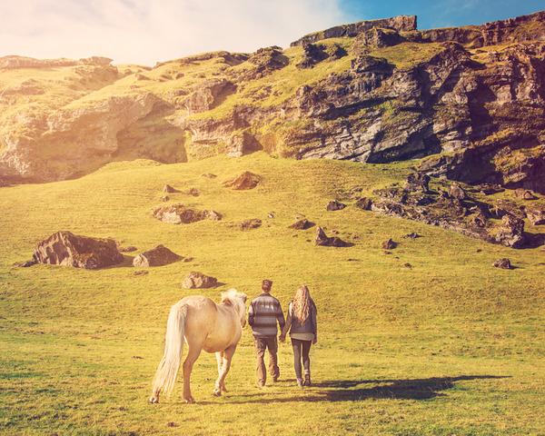 伝統的な結婚式を挙げずにアイスランドを旅したカップル (14)