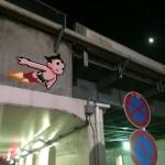 ドット絵の壁画!街を侵略するスペースインベーダープロジェクト