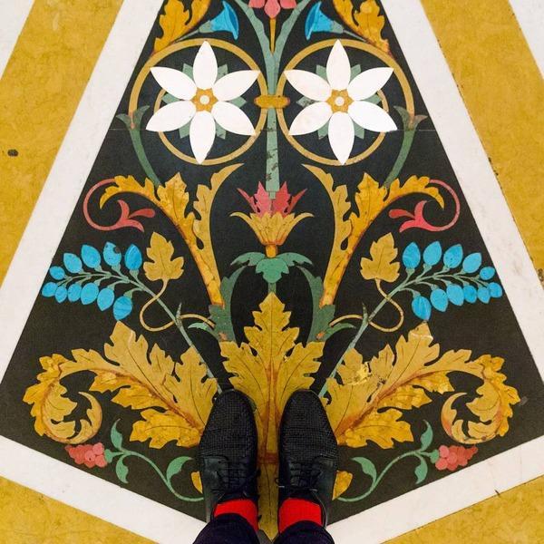 色んな床いっぱい。イタリア、ヴェネツィアの床のデザイン (6)