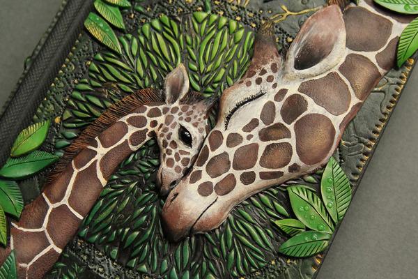 動物や自然をモチーフにした幻想的なブックカバー! (14)