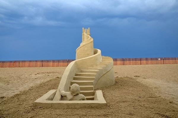 砂の彫刻コンテスト ハンプトン・ビーチ (4)