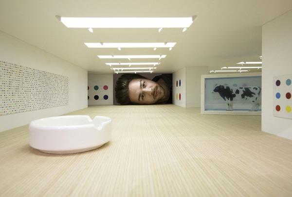 ミニチュア美術館を観に来たらアートの一部になっちゃった人達 (2)
