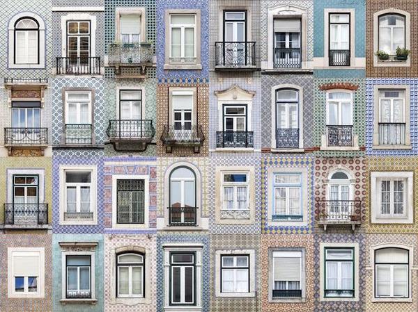 ポルトガル、リスボンの玄関ドア2