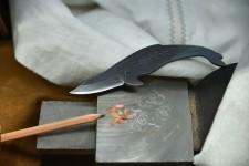 くじらナイフ!かわいくて実用的なクジラ型の刃物【土佐打】