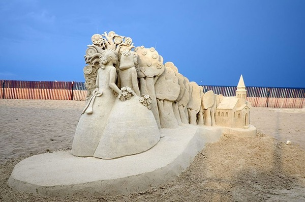 砂の彫刻コンテスト ハンプトン・ビーチ (11)