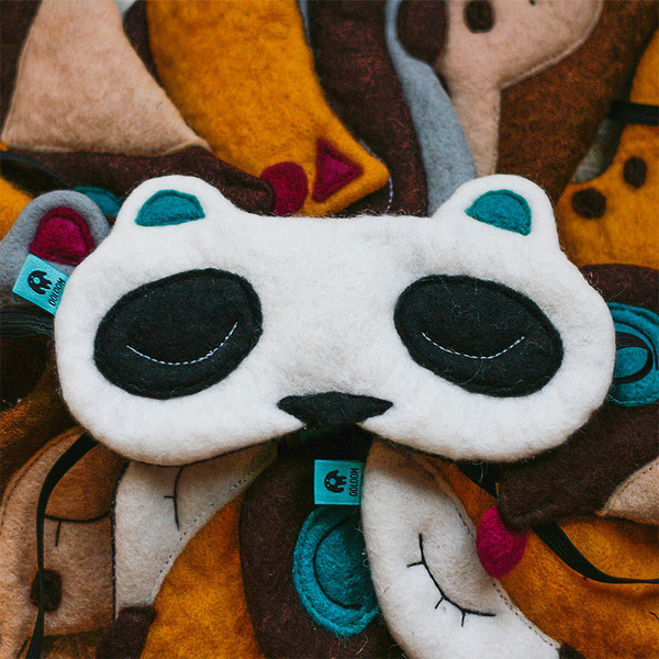 パンダのアイマスク