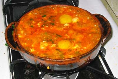 鍋はワタシの作品。