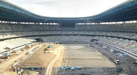 【悲報】2500億円かけて作った新国立競技場ただの便座だった (※画像あり)