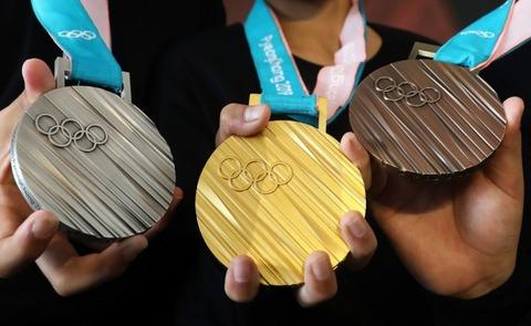 【画像】平昌オリンピックのメダルデザインが酷すぎる(笑)まるで排水口のふた!wwwwwwww