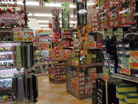 日本のチェーン店 内装