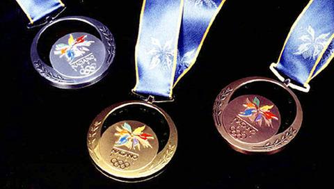 長野オリンピックメダル